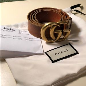 Gucci belt 100% authentic